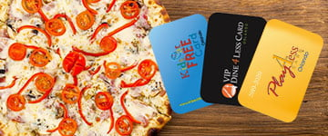 Kids Eat Free, Dine 4 Less and Play 4 Less cards